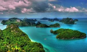 Thaiföld szépségei